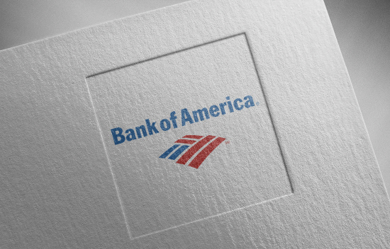bank-of-america-4 on paper texture